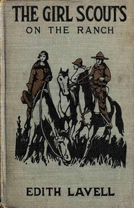 cover for book The Girl Scouts on the Ranch