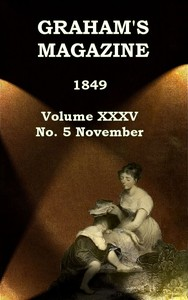 cover for book Graham's Magazine, Vol. XXXV, No. 5, November 1849