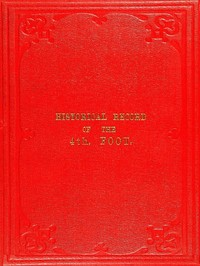 cover for book Historical Record of the Fourth, or the King's Own, Regiment of Foot