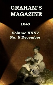 cover for book Graham's Magazine, Vol. XXXV, No. 6, December 1849