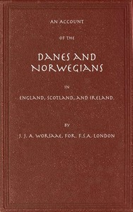 cover for book An Account of the Danes and Norwegians in England, Scotland, and Ireland