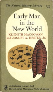 cover for book Early Man in the New World
