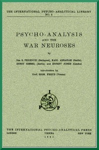 cover for book Psycho-Analysis and the War Neuroses
