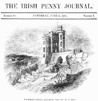 cover for book The Irish Penny Journal, Vol. 1 No. 49, June 5, 1841