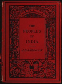 Cover of the book The Peoples of India by J. D. (James Drummond) Anderson
