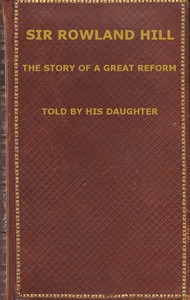 cover for book Sir Rowland Hill