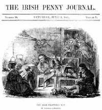 cover for book The Irish Penny Journal, Vol. 1 No. 50, June 12, 1841