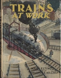 cover for book Trains at Work