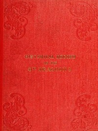 cover for book Historical Record of the Sixth, or Inniskilling Regiment of Dragoons