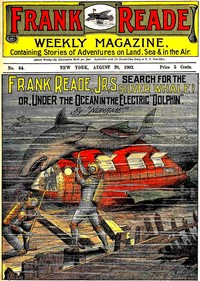 cover for book Frank Reade, Jr.'s Search for the Silver Whale