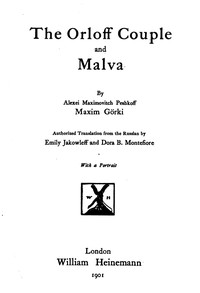 cover for book The Orloff Couple and Malva