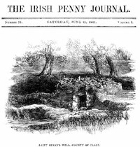 cover for book The Irish Penny Journal, Vol. 1 No. 51, June 19, 1841