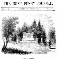 cover for book The Irish Penny Journal, Vol. 1 No. 52, June 26, 1841