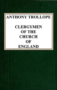 cover for book Clergymen of the Church of England