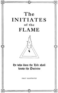 cover for book The Initiates of the Flame