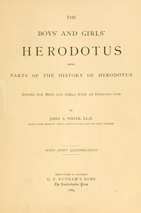 cover for book The Boys' and Girls' Herodotus