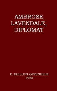cover for book Ambrose Lavendale, Diplomat