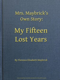 cover for book My Fifteen Lost Years