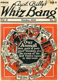 cover for book Captain Billy's Whiz Bang, Vol. 2. No. 13, October, 1920