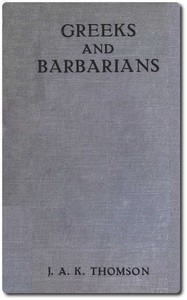 cover for book Greeks & Barbarians