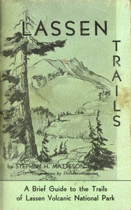 cover for book Lassen Trails