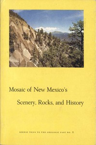 cover for book Mosaic of New Mexico's Scenery, Rocks, and History