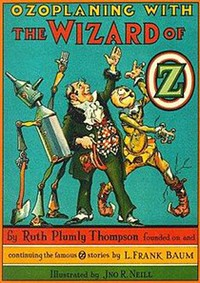 cover for book Ozoplaning with the Wizard of Oz