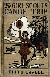 cover for book The Girl Scouts' Canoe Trip