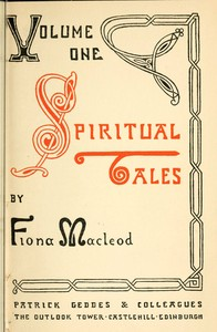 cover for book Spiritual Tales