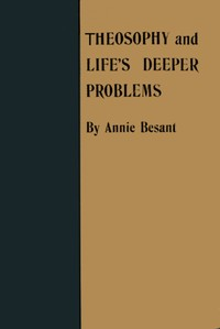 cover for book Theosophy and Life's Deeper Problems