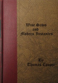 cover for book Wise Saws and Modern Instances, Volume 1 (of 2)