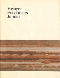 cover for book Voyager Encounters Jupiter