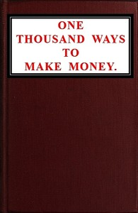 cover for book One Thousand Ways To Make Money