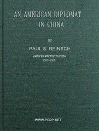 cover for book An American Diplomat in China