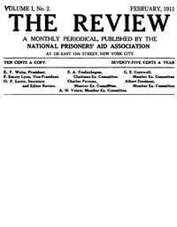 Cover of the book The Review, Vol. I, No. 2 (1911) by Various