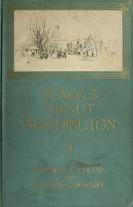 cover for book Walks about Washington