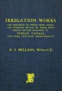 Cover of the book Irrigation Works by E. S. Bellasis