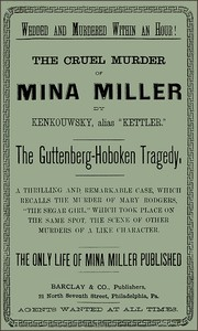 cover for book The Cruel Murder of Mina Miller