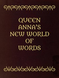 cover for book Queen Anna's New World of Words