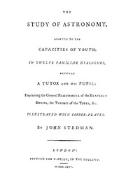 cover for book The Study of Astronomy