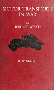 cover for book Motor Transports in War