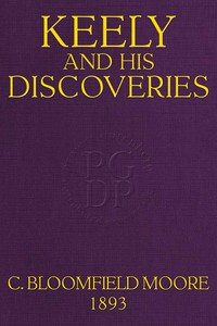 cover for book Keely and His Discoveries