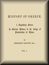 cover for book History of Greece, Volume 1 (of 12)
