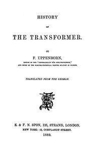 cover for book History of the Transformer
