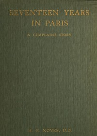 cover for book Seventeen Years in Paris