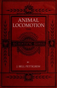 cover for book Animal Locomotion