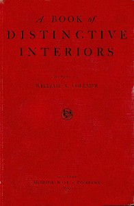 cover for book A Book of Distinctive Interiors