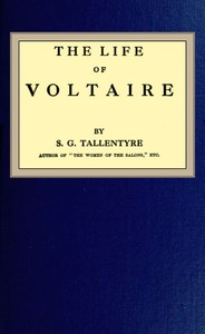 cover for book The life of Voltaire