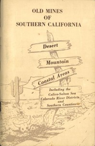cover for book Old Mines of Southern California
