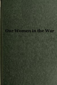 cover for book Our Women in the War